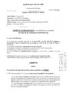 045 – arr déf REFUS – DP21M20 TOUTIN
