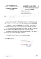 arr déf annulation retrait PC21M01 SCI RBEL